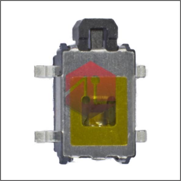 Pulsador Boton Costado Negro N6