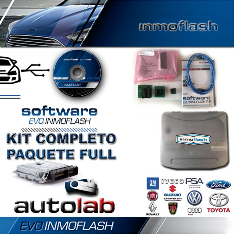 Evo Inmoflash 7.0 Kit Completo Pack Full