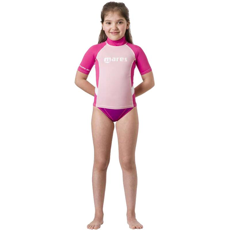 Rash Guard S/s Junior Girl
