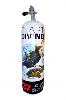 Try Scuba Diving Inflatable Tank Display