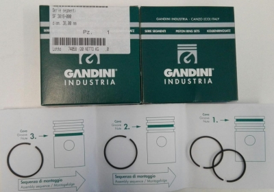 Piston Ring 2st Stage Dia38mm Mch/6